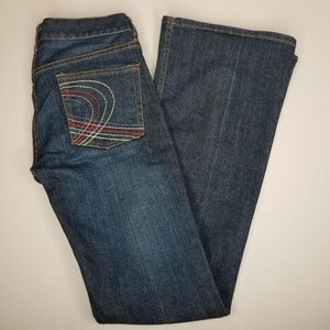 French Connection Bootcut Darkwash Jeans Size 4
